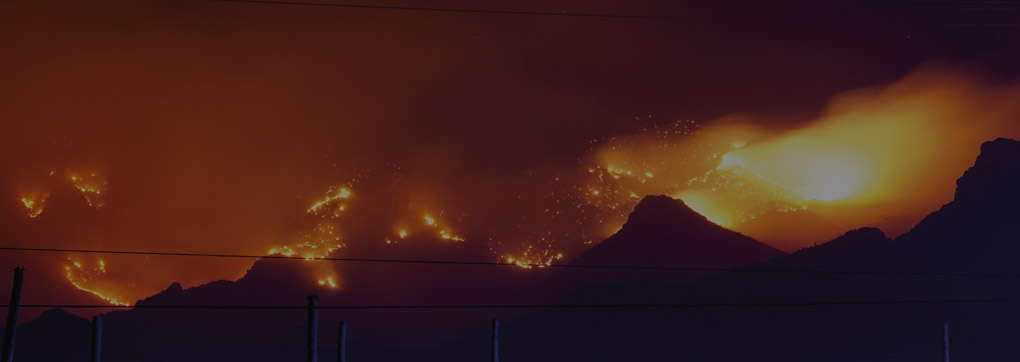 So many burning landscapes