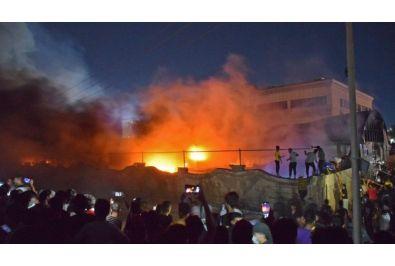 hospital fire